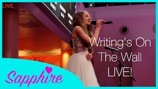 Writings On The Wall - Sam Smith - Cover By 12 Year Old Sapphire Live | 24 Days Of Sapphire
