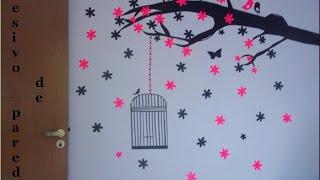 getlinkyoutube.com-DIY: Adesivos de parede #contact