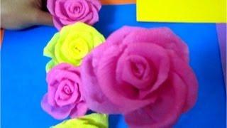 getlinkyoutube.com-Manualidades guirnalda de rosas
