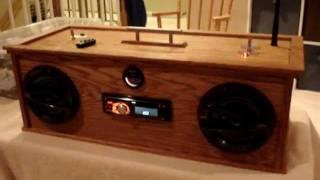 getlinkyoutube.com-Car Audio Homemade Boombox