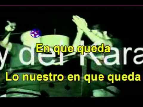 Karaoke Profesiona!! Sergio torres - en que queda - pista original