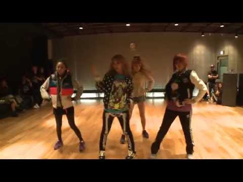 2NE1 &quot;I AM THE BEST&quot; Choreography Practice (Uncut Ver.)
