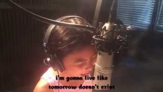 getlinkyoutube.com-Sia - Chandelier (Full Cover By Sydney Haik + Lyrics ) HD