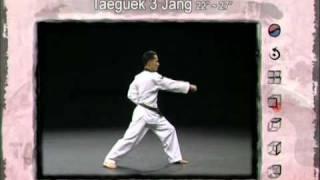 3ο Πούμσε: Τάεγκουκ Σαμ Τζανγκ (Poomsae Taeguek Sam Jang)