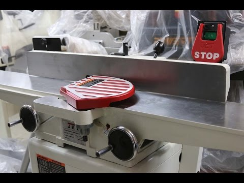 Video Review of the JET 6-inch jointer Youtube Thumbnail