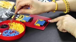 getlinkyoutube.com-Cattivissimo ME pyssla hama beads Despicable Me Minion Rush ita full hd 1080p