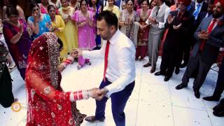 getlinkyoutube.com-Danny & Manpreet Sikh Wedding Reception 2014 I Baylis house, Slough