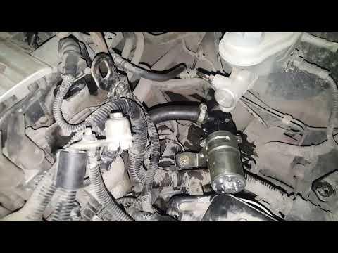 Где находится вентилятор печки у Hyundai Matrix