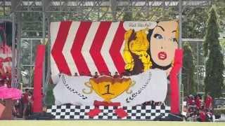 getlinkyoutube.com-กีฬาสี เตรียมอุดมฯ '58 : โชว์เชียร์สแตนด์สีแดง