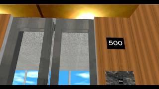 getlinkyoutube.com-High Speed Elevator - 500 Floors!