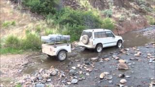 getlinkyoutube.com-Southeast Oregon trek with a Dinoot Trailer