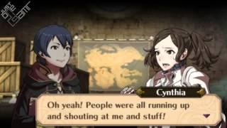 Fire Emblem Awakening - Morgan (Male) & Cynthia Support Conversations