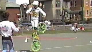 getlinkyoutube.com-Old School BMX bike stunts Columbus Ohio 1986 AFA