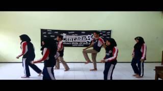 Senam ritmik SMA Negeri 4 Probolinggo XI IPS 3