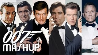 getlinkyoutube.com-007 James Bond - Dr No. to Spectre Mashup 2015