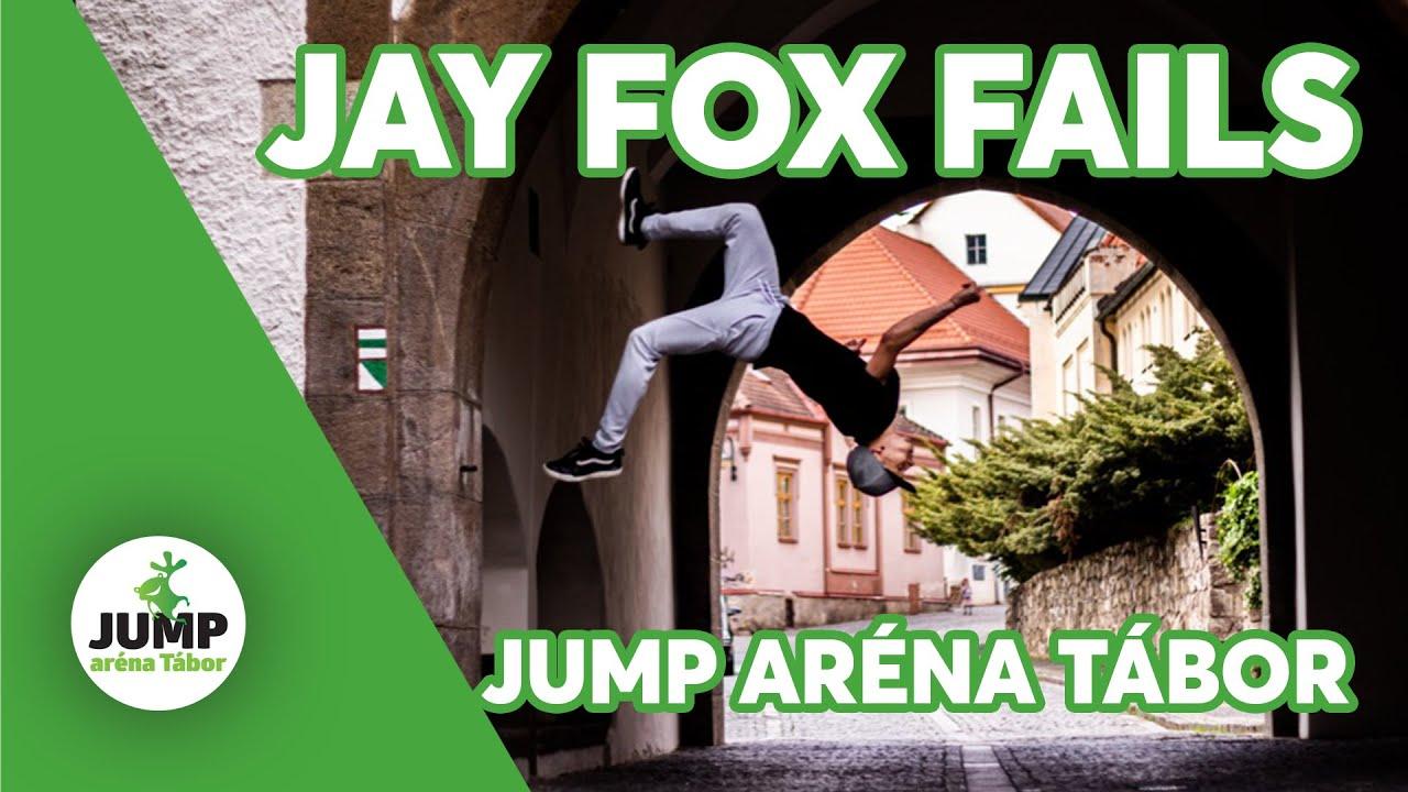 Jay Fox FAILS - Jump aréna Tábor