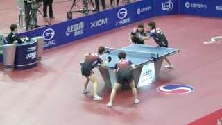 getlinkyoutube.com-2013 Korea Open 탁구대회 여자복식결승 (박영숙,양하은)vs(이은희,전지희)