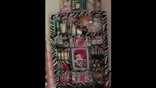 getlinkyoutube.com-Manualidades: Organizador de pared con cajas recicladas - Juancarlos960