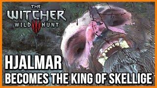 getlinkyoutube.com-Witcher 3: The Horrible Berserker's Ritual, Hjalmar Becomes King of Skellige