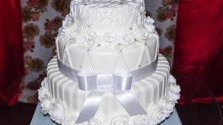 getlinkyoutube.com-Demostração, bolo de casamento