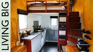 getlinkyoutube.com-Two Years in a Modern, Off-Grid Tiny House