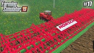 getlinkyoutube.com-Farming Simulator 15 моды: КУЛЬТИВАТОР (50М) и ГУСЕНИЧНЫЙ ТРАКТОР ДТ-75М  (17 серия) (1080р)