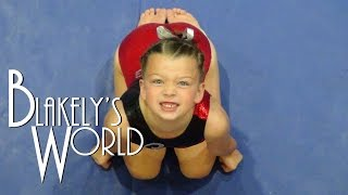 getlinkyoutube.com-Gymnastics Level 1 State Meet | Blakely