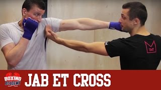 getlinkyoutube.com-LES DIRECTS EN BOXE ANGLAISE - JAB & CROSS (COURS N°1)