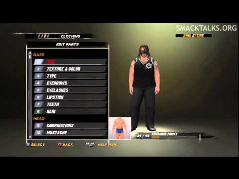 WWE '12 Abyss CAW Formula by Big333GUS