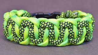 "getlinkyoutube.com-Make the ""Cobra Belly Bar"" Paracord Survival Bracelet"