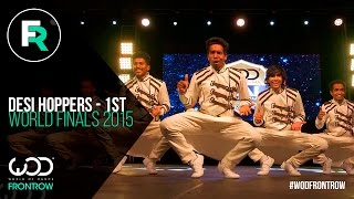 getlinkyoutube.com-Desi Hoppers 1st Place Finals | FRONTROW | World of Dance Finals 2015 | #WODFINALS15