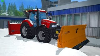 getlinkyoutube.com-Farming Simulator 15 Plowing Snow