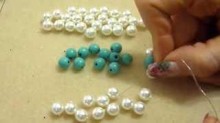getlinkyoutube.com-DIY tutorial bracciale antiallergico cristalli e perline gioielli fai da te bracelet handmade
