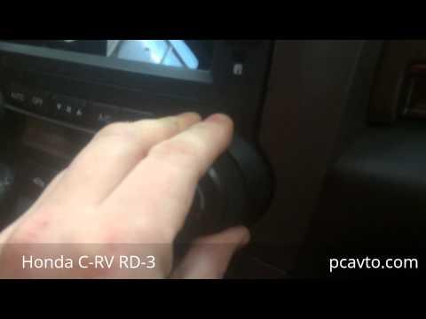 Как не надо делать! Серия 3. Honda C-RV RD-3. Установка магнитолы отверткой (pcavto.com)