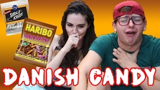 getlinkyoutube.com-ARTURO'S First Taste of DANISH Candy!!