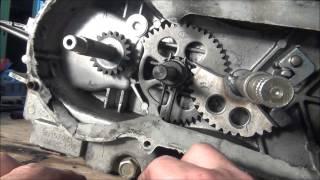 getlinkyoutube.com-Kick Start Gear Aligment - 150cc GY6