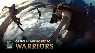 getlinkyoutube.com-Imagine Dragons: Warriors | Worlds 2014 - League of Legends