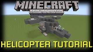 getlinkyoutube.com-Minecraft Xbox 360: How to Build a Helicopter!