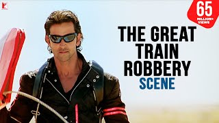 getlinkyoutube.com-The Great Train Robbery - Scene | Dhoom:2 | Hrithik Roshan