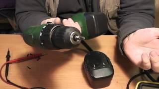 getlinkyoutube.com-Чем заменить отслужившие аккумуляторы для шуруповёрта!? - Обзор