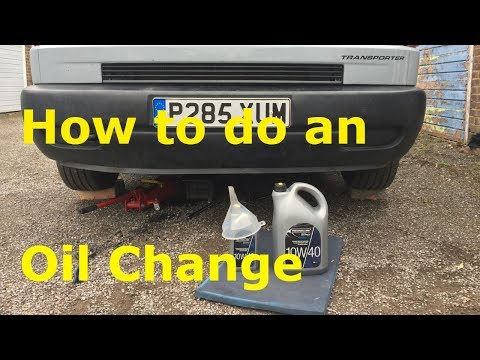 T4 Oil Change - Nice and simple