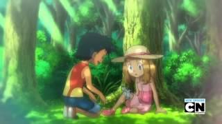 getlinkyoutube.com-Pokemon - Ash meets Serena (during childhood)