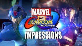 getlinkyoutube.com-IMPRESSIONS, CONCERNS & MORE - Marvel Vs. Capcom Infinite