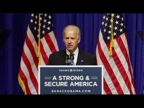 Vice President Biden on the Commitment to Keeping Americans Safe and our Nation Secure - Full Speech