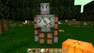 getlinkyoutube.com-invocar nuevos monstruos en minecraft(GOLEM, WITHER Y MUÑECO DE NIEVE)
