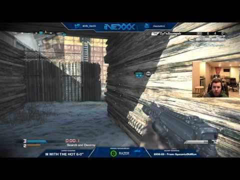 NexXx & Scump 2v2 Tournament 1st MAP FINALS
