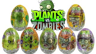 getlinkyoutube.com-Huevos Sorpresa de Plantas vs Zombies | JuguetesYSorpresas