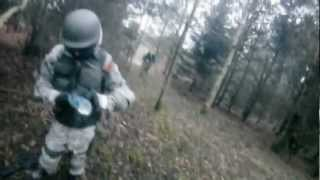 WE M4 Airsoft AWESOME Skirmish Footage!