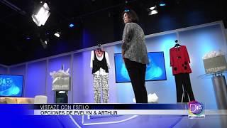 Gaby Romero habló con Elisa Sauceda sobre moda. Evelyn & Arthur presenta atractivas opciones
