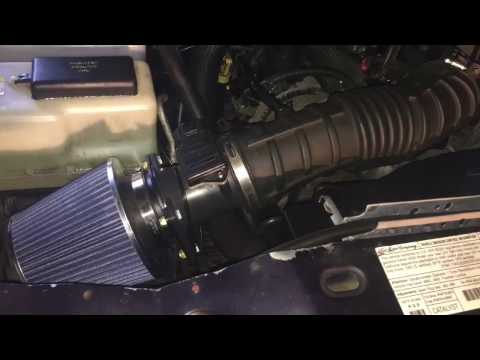 Ford Ranger 4.0 V6 DIY Cold Air Intake install